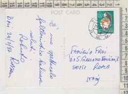 Storia Postale Francobollo Commemorativo Indonesia Bali - Indonesië