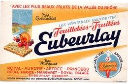 Buvard Gaufrettes Eubeurlay. Ampuis, Rhône. - Cake & Candy