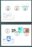ALAND - 1.3.1984 - FDC - YEAR COMPLETE - Yv 1-7 - Lot 20766 - Aland