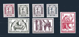 "B 1956: ""Antiteringszegels""; 998 - 1004; Postfris/neuf - Belgique"