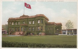 """WALKERVILLE, Ontario, Canada, 1910-20s; """"Canadian Club"""" Whiskey, Distillery Offices, North Front - Ontario"""