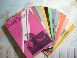 L'Avant-Scène Femina-Théâtre Lot De 14 Numéros Consécurifs Du N°221 (1-er Juin 1960) Au N°234 (1-er Janvier 1961) - Livres, BD, Revues