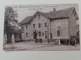 Montboillon La Maison Commune Construite En 1870 Haute Saône Franche Comté - France
