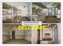 DD / GUERRE 1939-45 / LIGNE MAGINOT / FERMONT (54) / CHAMBRE DE SOLDATS , FOYER DU SOLDAT , LES CUISINES , FOUR À PAIN - War 1939-45