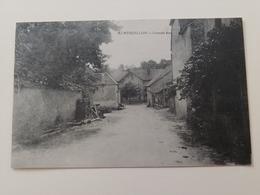 Montboillon Grande Rue Haute Saône Franche Comté - France