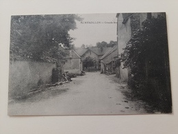Montboillon Grande Rue Haute Saône Franche Comté - Francia