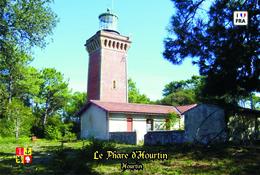 Set 6 Cartes Postales, Phares, Lighthouses Of Europe, France, Hourtin, Le Phare D'Hourtin - Leuchttürme