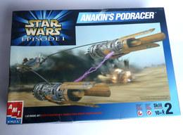 MAQUETTE STAR WARS AMT EN BOITE FIGURINE ANAKIN PODRACER 1999 - Figurines