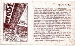 Buvard Le Mausolée, Revue Pour Marbriers. Givors Rhône. - Unclassified