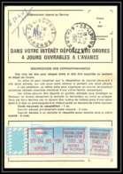 54412 Libourne 1985 Gironde Vignette EMA Ordre De Reexpedition Temporaire France - Poststempel (Briefe)