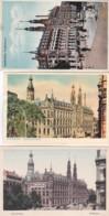 47705Amsterdam, Postkantoor.3 Kaarten.(zie Hoeken En Randen) - Amsterdam
