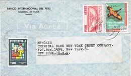 34970. Carta Aerea PIURA (Peru) 1960. Chemical Bank - Perú