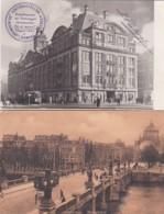 4770      9             Amsterdam, Hoogesluis Met Tram 1906.(zie Hoeken)- Bijenkorf Met Tram 5(zie Achterkant, - Amsterdam