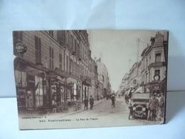 245. FONTAINEBLEAU 77 SEINE ET MARNE LA RUE DE FRANCE CPA 1932 Collection Artistique L.M - Fontainebleau