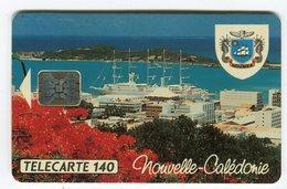 Telecarte °_ N-Calédonie-12A-Nouméa Club Med-140 U-Sc5an.TGe-05.94- R/V 0789 ° LUXE - Nouvelle-Calédonie