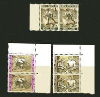 B 1963: Tegen Honger; 1243 - 1245; Postfris/neuf - Belgique