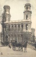 CPA Paris L'Eglise St-Sulpice - Arrondissement: 06