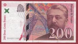 """200 Francs """"Eiffel"""" 1996--F/TTB+---ALPH.H--Numéro .023116032 - 1992-2000 Aktuelle Serie"""