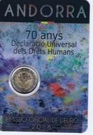 Andorra - 2 Euro Commemorativo 2018 In Confezione Originale - Diritti Umani - Andorra