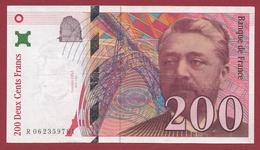 """200 Francs """"Eiffel"""" 1997--F/TTB+---ALPH.R--Numéro .062359781 - 200 F 1995-1999 ''Eiffel''"""