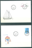 ALAND - 2.1.1985 AND 21.5.1990 - FDC - Yv 8-10a - Lot 20768 - Aland