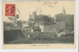 GIEN - Vue Est Et Collège - Gien