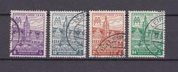 West-Sachsen - 1946 - Michel Nr. 162/65 A  Y - Gest. - 30 Euro - Sowjetische Zone (SBZ)