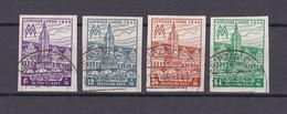 West-Sachsen - 1946 - Michel Nr. 162/65 B  Y - Gest. - 200 Euro - Sowjetische Zone (SBZ)