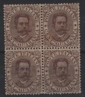 1889 Umberto I 40 C. MNH - 1861-78 Victor Emmanuel II.