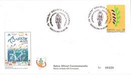 34978. Carta BARCELONA 1993. 73 Volta Ciclista Catalunya. Ciclismo - 1931-Hoy: 2ª República - ... Juan Carlos I