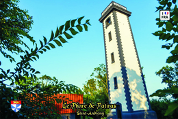 Set 6 Cartes Postales, Phares, Lighthouses Of Europe, France, Saint-Androny, Le Phare De Patiras - Leuchttürme