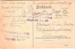 Carte De Prisonnier De Soldat Belge - Militaria