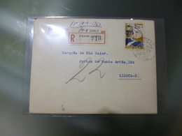 REGISTADO - PICOAS/LISBOA - 1910-... Republic