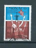 1997 Monaco Red Cross,rotes Kreuz Used/gebruikt/oblitere - Monaco