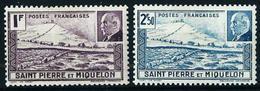 St.Pedro Y Miquelón Nº 210/11 Nuevo* - St.Pierre & Miquelon
