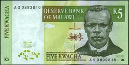 MALAWI - 5 Kwacha 01.07.1997 UNC P.36 A - Malawi