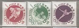 JAPAN 1962 Summer Olympic Games Tokyo MNH (**) Mi 797-799 #24797 - Summer 1964: Tokyo