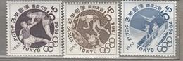 JAPAN 1963 Summer Olympic Games Tokyo MNH (**) Mi 832-834 #24799 - Summer 1964: Tokyo