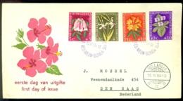Nederlands Nieuw Guinea 1959 FDC Sociale Zorg - Nederlands Nieuw-Guinea