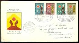 Nederlands Nieuw Guinea 1958 FDC Rode Kruis - Nederlands Nieuw-Guinea