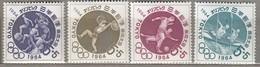JAPAN 1964 Summer Olympic Games Tokyo MNH (**) Mi 863-866 #24801 - Summer 1964: Tokyo