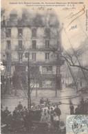 EVENEMENTS Catastrophe - 75 - PARIS 1 Er : INCENDIE De La MAISON LAURETTE / 63 Bld Sébastopol (20/02/1904) - CPA - - Catastrophes