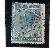 NR.18-LP236-MARBEHANT - 1865-1866 Profil Gauche