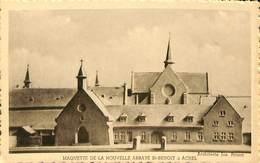 CPA - Belgique - Maquette De La Nouvelle Abbaye St-Benoit à Achel - Hamont-Achel