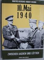 Buch 10 Mai 1940 Zwischen Aachen Und Lüttich Fort Battice Eben Emaël Tancrémont Battice Fortification Bunker Belgium WW2 - 5. Zeit Der Weltkriege
