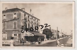 CPA - 95 - ARGENTEUIL - Route De Pontoise - Tabac Billard Du Val Notre Dame - Moto - Animation - Argenteuil