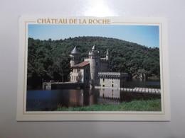 SAINT PRIEST LA ROCHE Chateau De La Roche - Frankreich