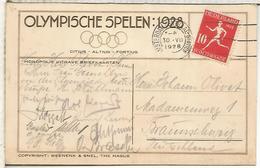 HOLANDA JUEGOS OLIMPICOS DE AMSTERDAM 1928 TP CON FIRMAS - Summer 1928: Amsterdam