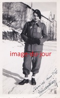 PHOTO ANCIENNE  GUERRE 1939 1945  TENUE D' UN CHEF DE PATROUILLE DES CHANTIER DE JEUNESSE - Guerra, Militari