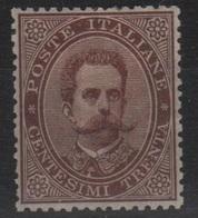 1879 Umberto I 30 C. MLH * - 1878-00 Umberto I